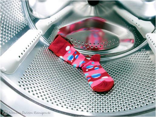 Ursache für verfärbte Wäsche