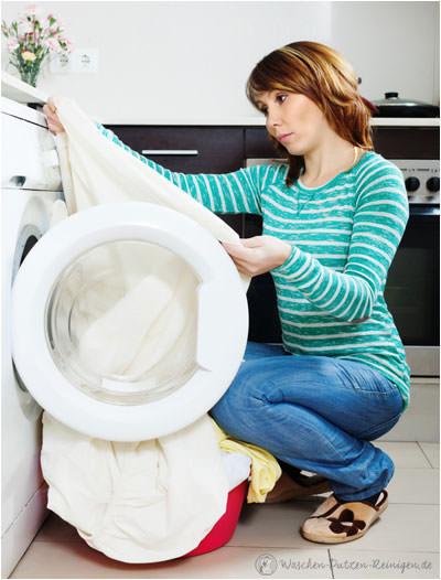 verfärbte Wäsche
