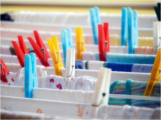 Wäsche trocknen in der Wohnung