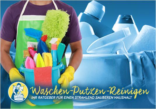 Waschen, Putzen, Reinigen